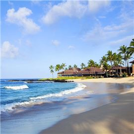 Poipu Beach and RumFire exterior