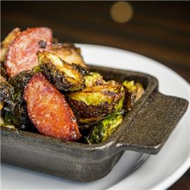 Fried Brussel Sprout